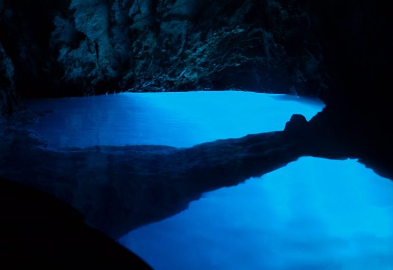 croatia blue cave