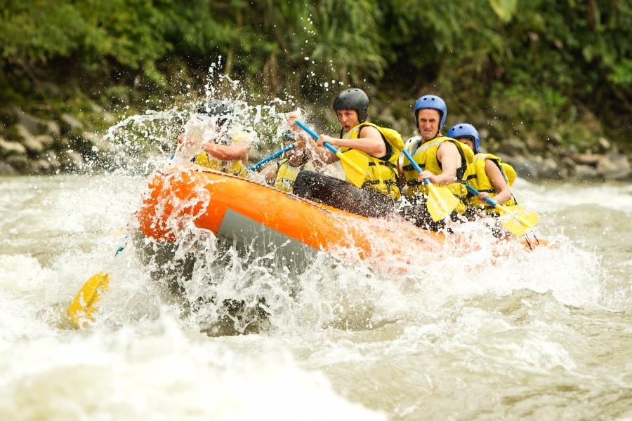 rafting from split