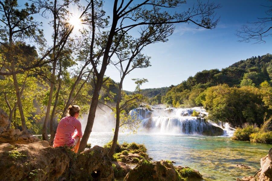 krka river croatia trip