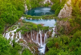 national park plitvice croatia